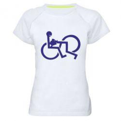 Женская спортивная футболка удовольствие - FatLine