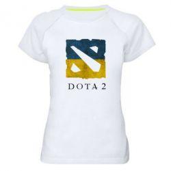 Женская спортивная футболка Ukraine Dota Team - FatLine