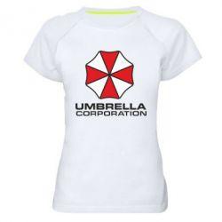 Женская спортивная футболка Umbrella - FatLine