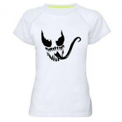 Женская спортивная футболка Venom Silhouette - FatLine