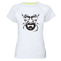 Женская спортивная футболка Во все тяжкие (Уолтер) - FatLine