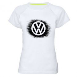 Жіноча спортивна футболка Volkswagen art