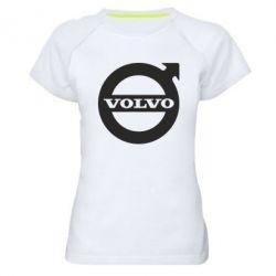 Женская спортивная футболка Volvo - FatLine