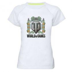 Женская спортивная футболка WOT Art - FatLine