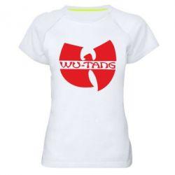 Женская спортивная футболка WU-TANG - FatLine