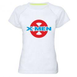 Женская спортивная футболка X-men - FatLine