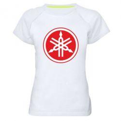 Женская спортивная футболка Yamaha Big Logo - FatLine