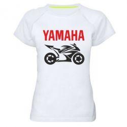 Женская спортивная футболка Yamaha Bike