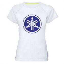 Женская спортивная футболка Yamaha - FatLine