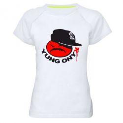 Женская спортивная футболка Yung ONYX - FatLine