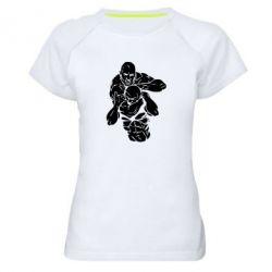 Женская спортивная футболка Захват - FatLine
