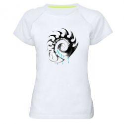 Женская спортивная футболка Zerg Symbol - FatLine