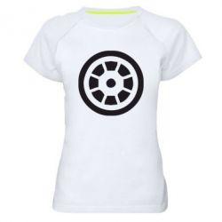 Женская спортивная футболка Железный человек - FatLine