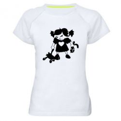 Жіноча спортивна футболка Злюка - FatLine