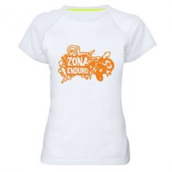 Женская спортивная футболка Zona Enduro - FatLine