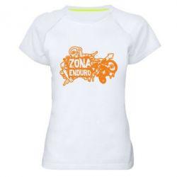 Жіноча спортивна футболка Zona Enduro - FatLine