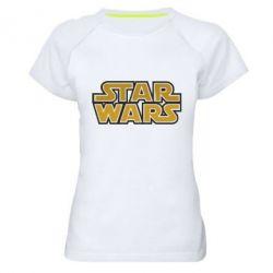 Женская спортивная футболка Звездные войны - FatLine