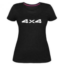 Женская стрейчевая футболка 4x4 - FatLine