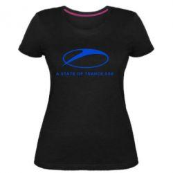 Жіноча стрейчева футболка A state of trance 500