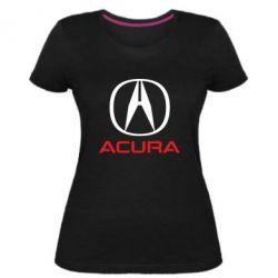 Жіноча стрейчева футболка Acura