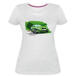 Женская стрейчевая футболка Alpina Art