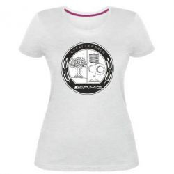 Жіноча стрейчева футболка AMG