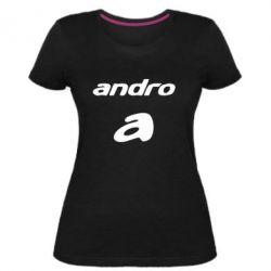 Жіноча стрейчева футболка Andro