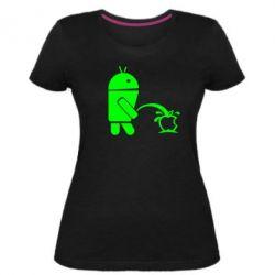 Жіноча стрейчева футболка Android принижує Apple