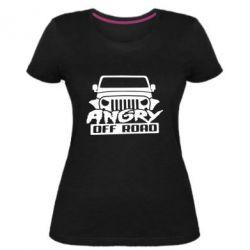 Жіноча стрейчева футболка Angry Off Road