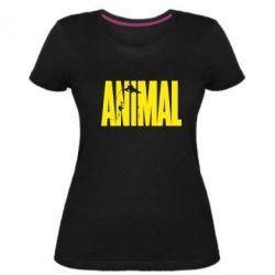 Жіноча стрейчева футболка Animal Gym