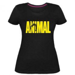 Жіноча стрейчева футболка Animal Powerlifting