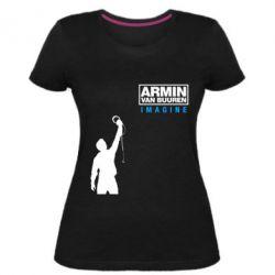 Женская стрейчевая футболка Armin Imagine