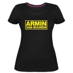 Женская стрейчевая футболка Armin