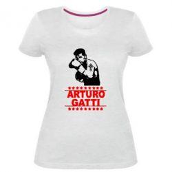Жіноча стрейчева футболка Arturo Gatti