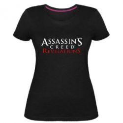 Жіноча стрейчева футболка Assassin's Creed Revelations