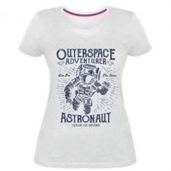 Жіноча стрейчева футболка Astronaut