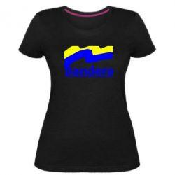 Женская стрейчевая футболка Bandera - FatLine