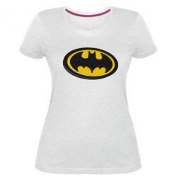 Жіноча стрейчева футболка Batman 3D