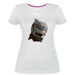 Жіноча стрейчева футболка Batman Armoured