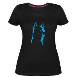 Женская стрейчевая футболка Batman Hero