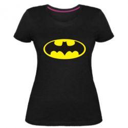 Женская стрейчевая футболка Batman