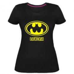 Жіноча стрейчева футболка Batwoman