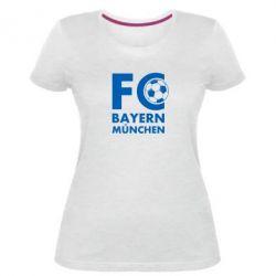 Жіноча стрейчева футболка Баварія Мюнхен
