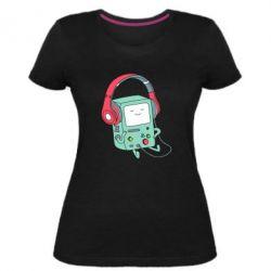 Жіноча стрейчева футболка Beemo