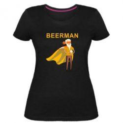 Жіноча стрейчева футболка BEERMAN