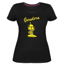 Женская стрейчевая футболка Bendera