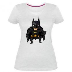 Жіноча стрейчева футболка Бетмен Арт