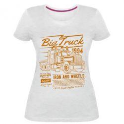 Жіноча стрейчева футболка Big Truck 2