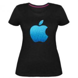 Женская стрейчевая футболка Blue Apple