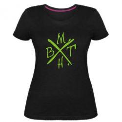 Жіноча стрейчева футболка BMTH